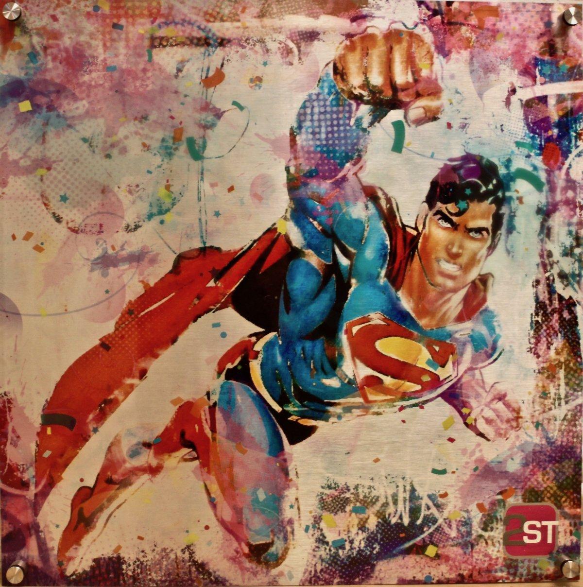 supermansilver-pappestellbrink-popart-popstreetshop